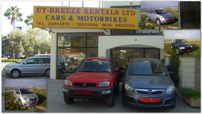 Cy-Breeze Rentals Main Office - Paphos Cyprus